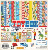 Carta Bella Paper Company Toy Box Enamel Dots