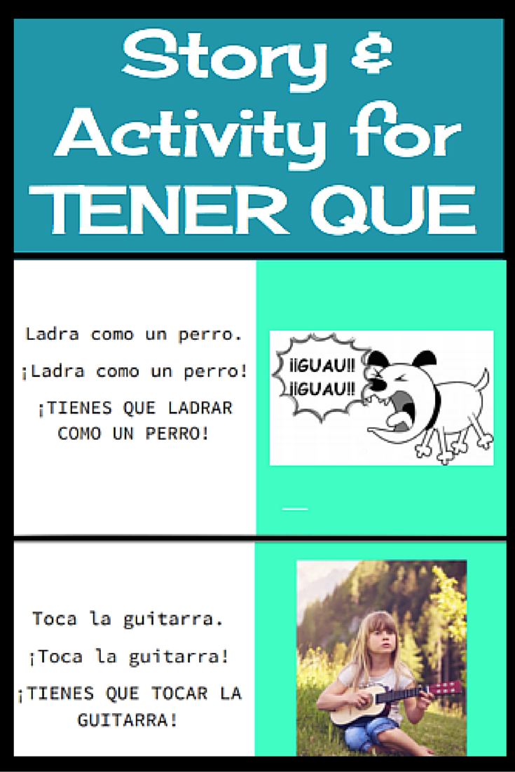 This is a really fun activity for actively teaching tener que that ...