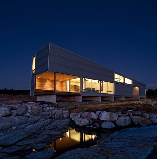 Elongated waterfront house with amazing sea views also best context images architectural drawings architecture rh pinterest