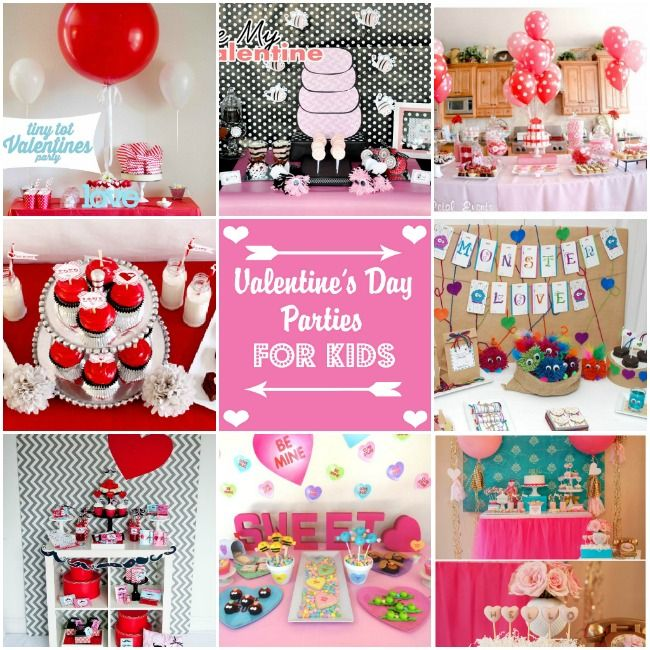 Valentine S Day Parties For Kids Holiday Creative Valentine S Old