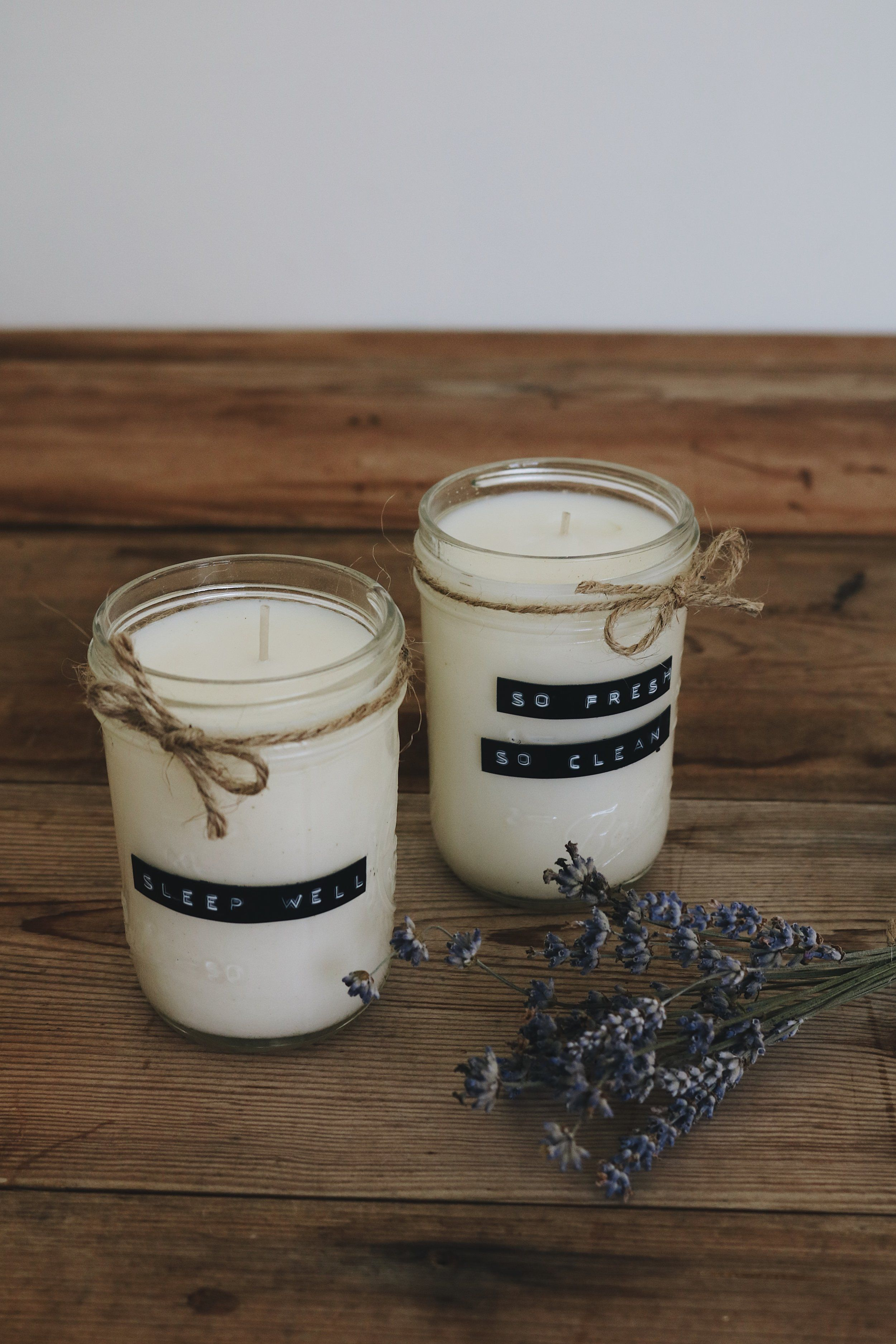 DIY Essential Oil Soy Candles Essential oil candles