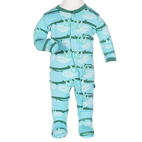 d1ec47722 Kickee Pants Baby Boys' Print Fitted Footie in Confetti S ...