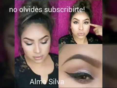 Soft Brown Smokey eyes / Sombras Cafe Aumado Suave - YouTube