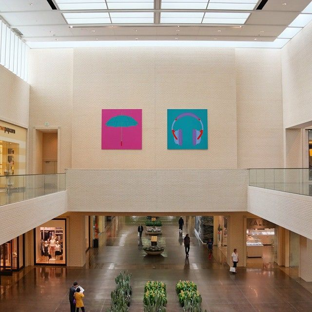 Michael Craig Martin artwork at #NorthParkCenter