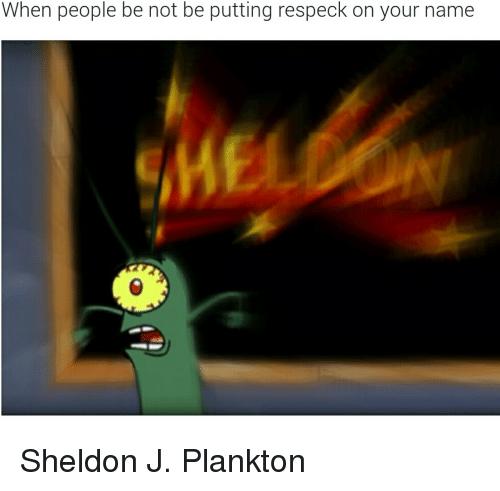 2406 Funny Daquan Memes Of 2016 On Sizzle: Tumblr Sheldon Plankton Spongebob