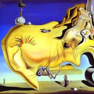 The Great Masturbator, 1929 - Salvador Dalí