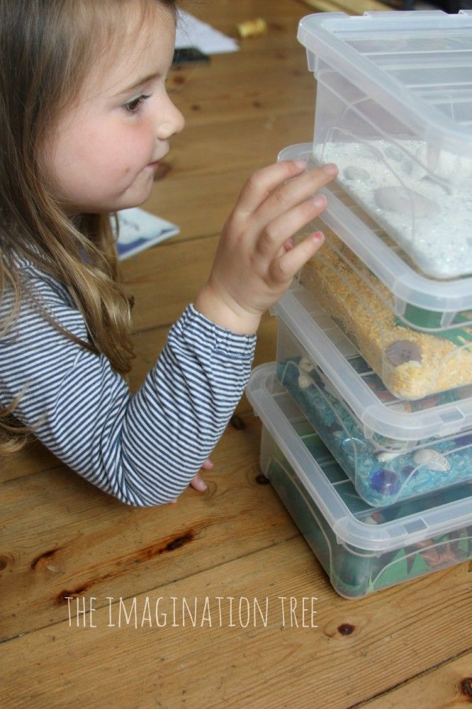 Animal Habitat Mini Sensory Tubs | Sensory tubs, Animal habitats and ...