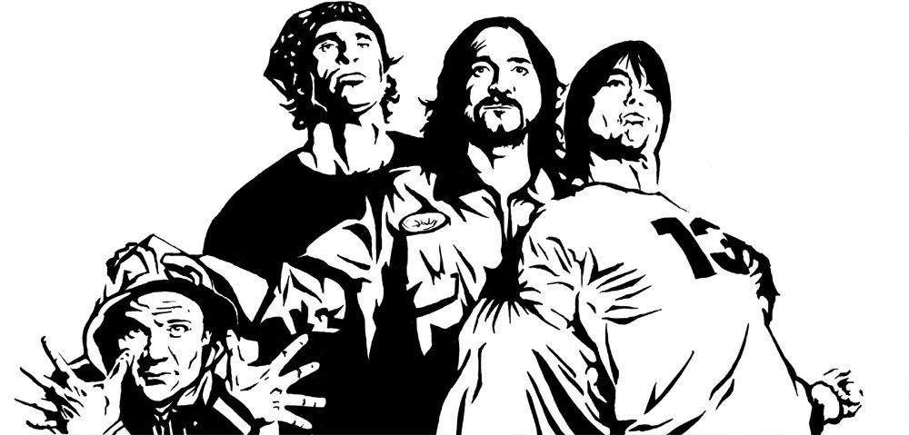 35 ilustraciones de Red Hot Chili Peppers | Paella Creativa ...