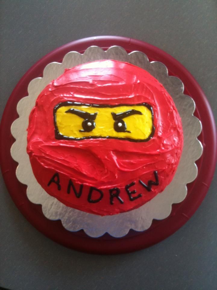 Fabulous Ninjago Kai Cake With Images Ninja Birthday Cake Lego Ninjago Funny Birthday Cards Online Alyptdamsfinfo