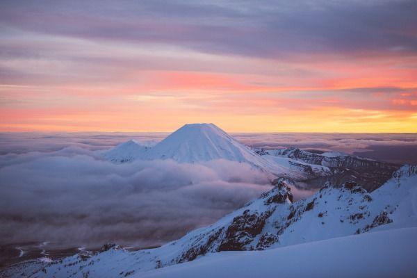 Mt Ngauruhoe, Tongariro National Park