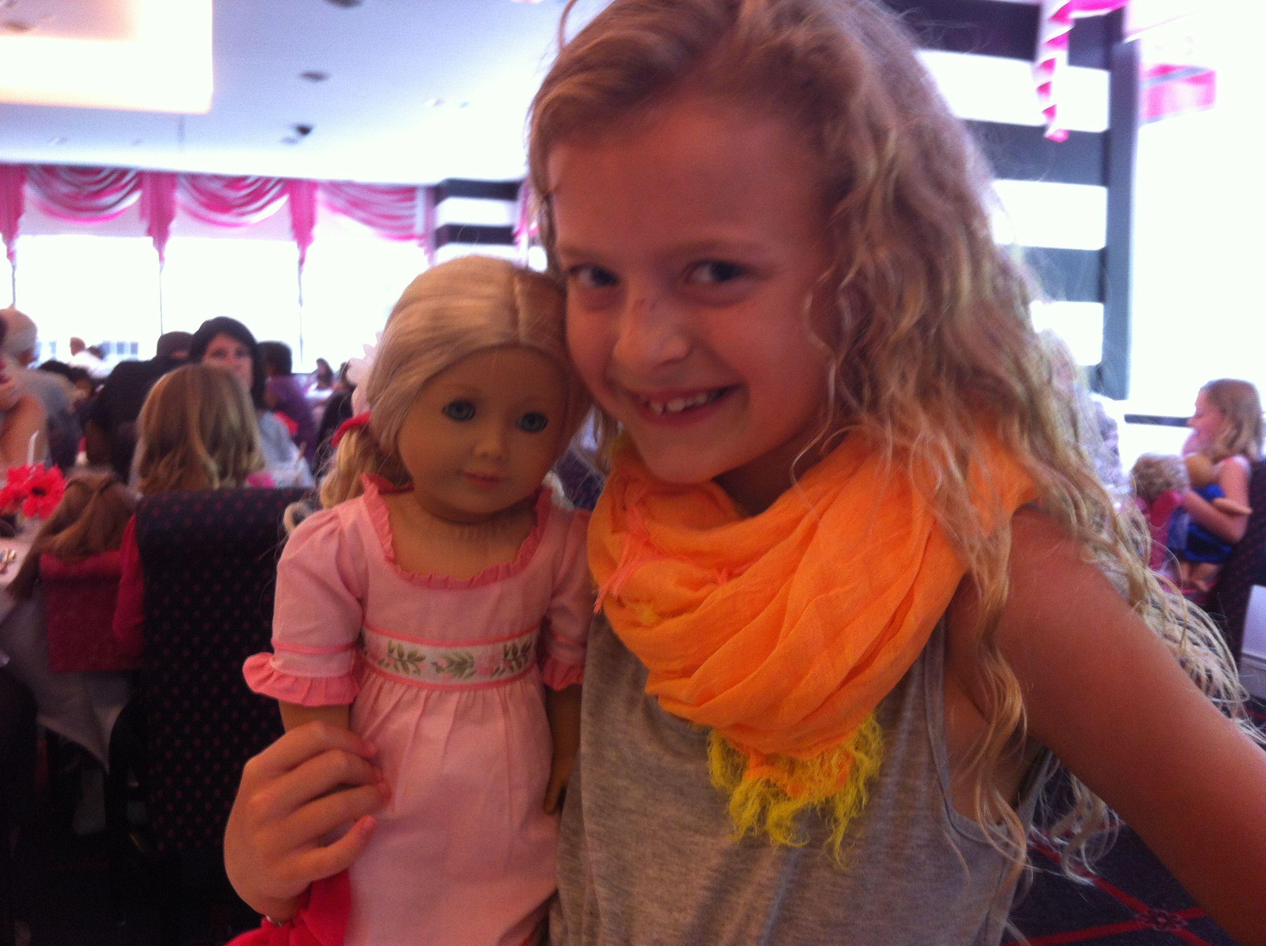 In chigo at amirican girl doll
