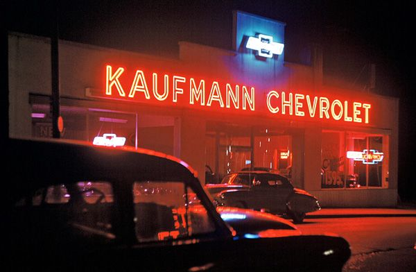 Kaufmann Chevrolet 1953 Chevrolet Chevrolet Dealership Classic Cars