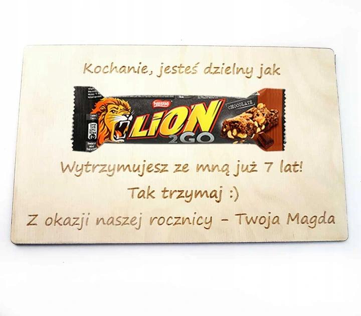 Prezent Dla Meza Zony Na Rocznice Slubu Zwiazku Candy Bar Candy