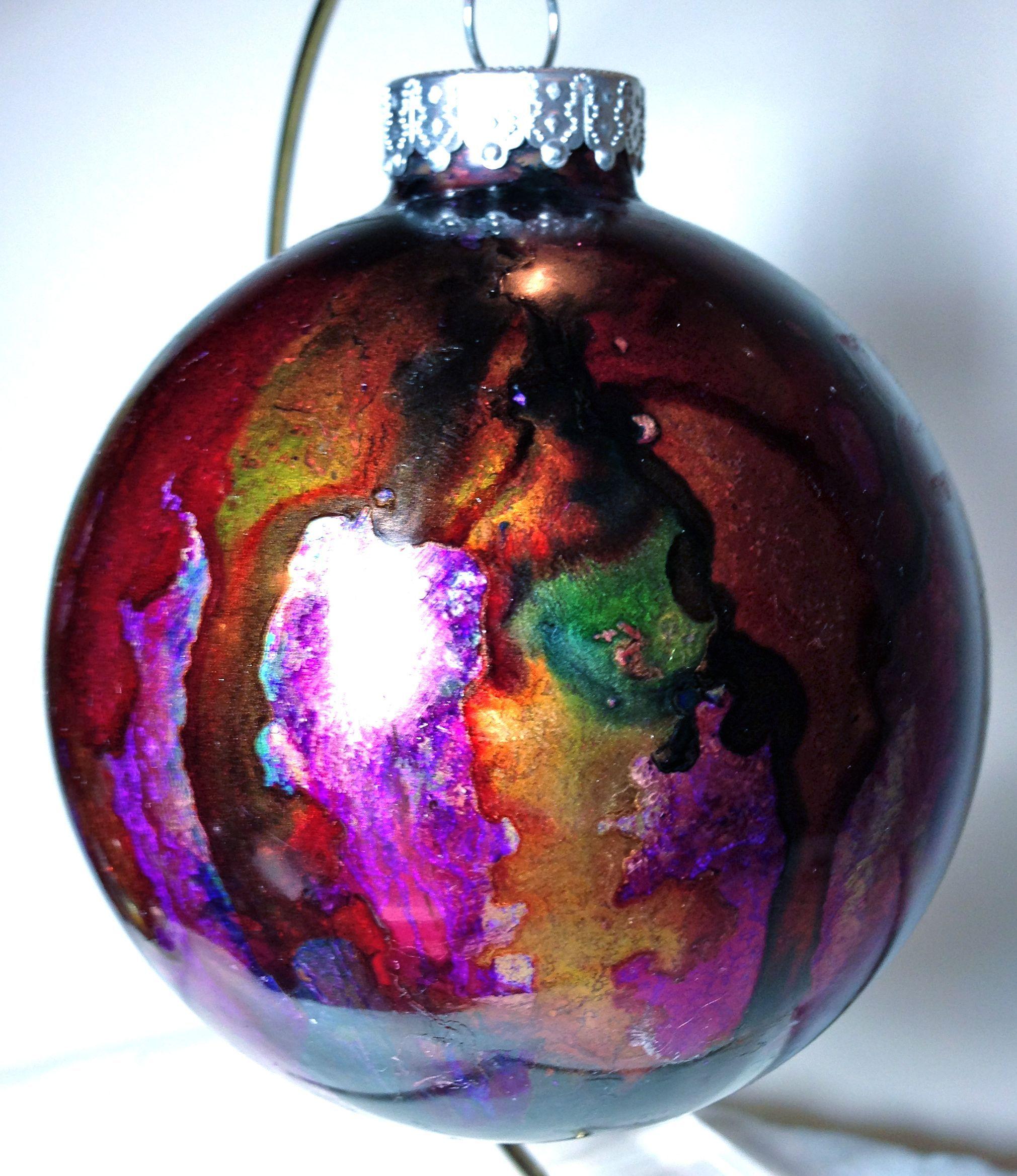 Alcohol Ink Christmas Ornaments.Ai Christmas Ornament Alcohol Ink Christmas Ornaments