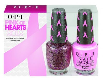 """OPI """"Pink of Hearts"""" #nail #polish for a great cause #breastcancer #awareness"""