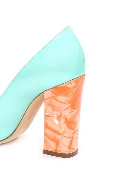The marble heel - Pollini SS14 icon