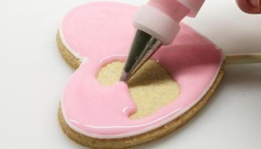 Receta de glaseado para decorar galletas, tartas y pastelitos