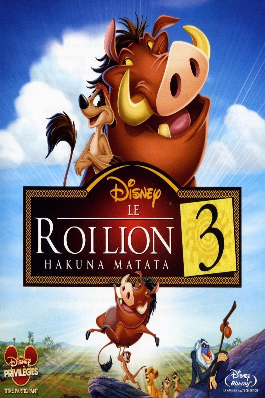 Le roi lion 3 hakuna matata 2004 regarder films - Voir le roi lion ...
