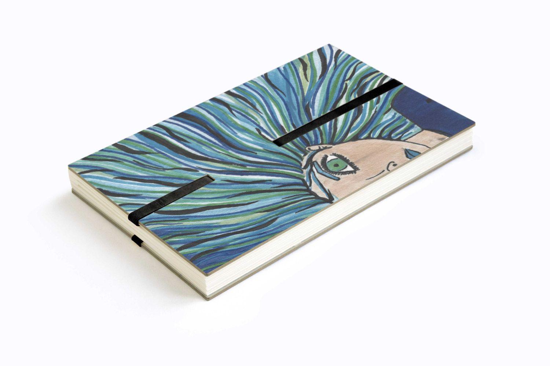 LESS THIGNZ NOTEZ |DAYZ Notizbuch Einzelstück handbemalt