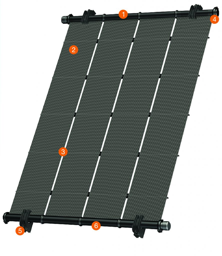 Heliocol Solar Pool Heating With Images Pool Solar Panels Solar Panels Solar Pool Heating