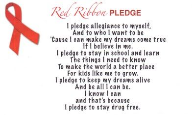 1000+ images about Red Ribbon Week on Pinterest