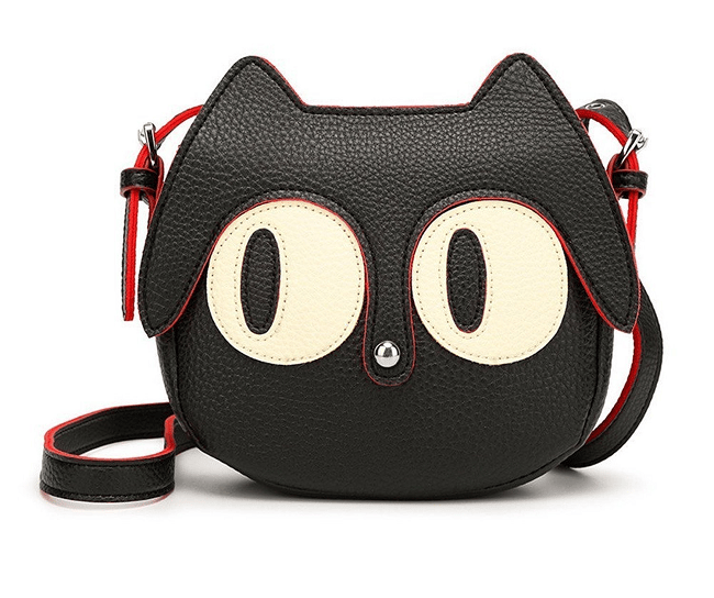 c341beb097c Cute Cat Face Shaped Sling Bag | Women's Trending Fashion in 2019 ...