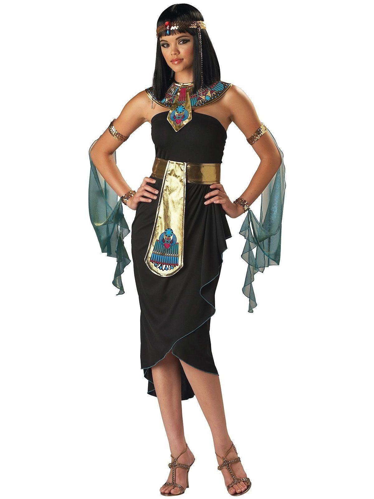42a516b42d0e Adult Black Cleopatra Costume   Costumes   Cleopatra costume ...