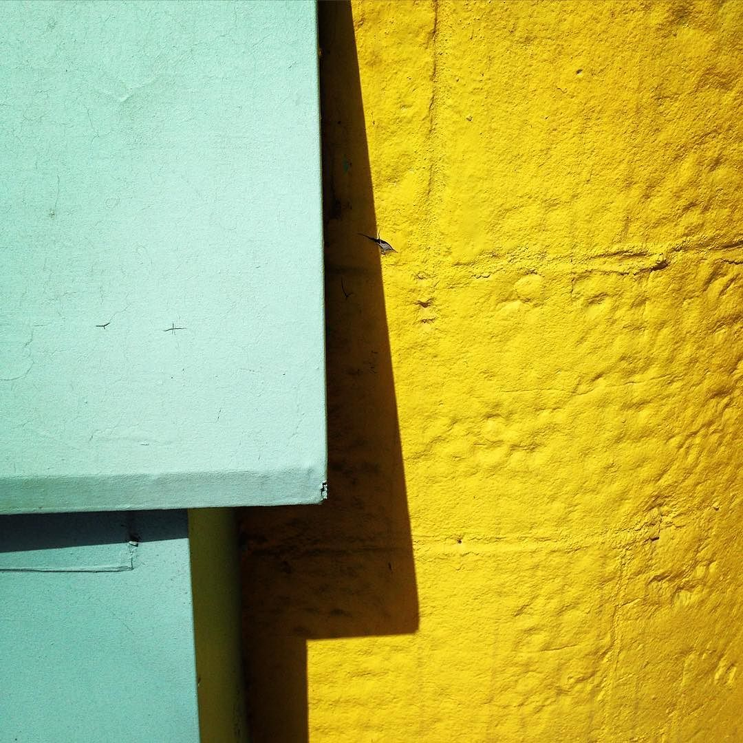 Colorful #detail of #wall (1/3) Photo by Noëmie Forget. #abstract ...