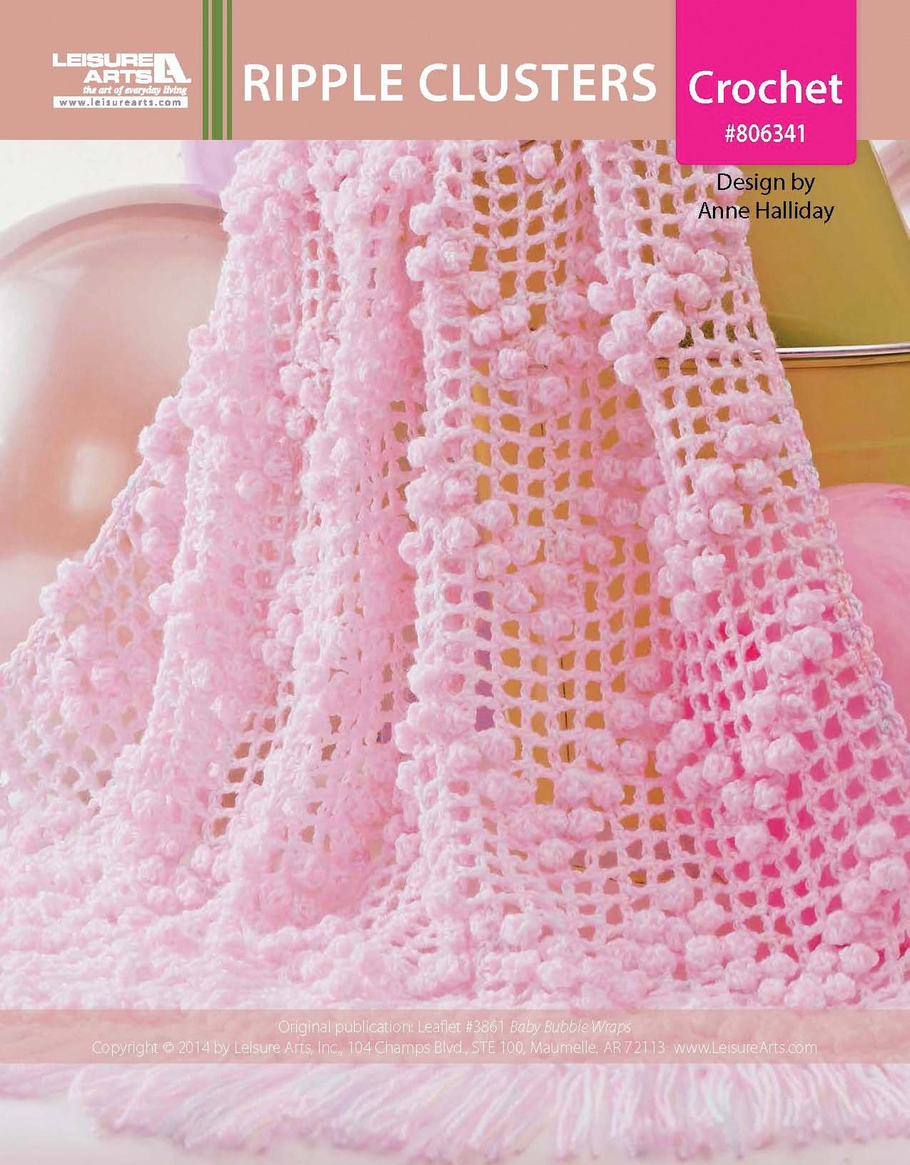Ripple Clusters Epattern Bubble Wrap Wraps And Crochet