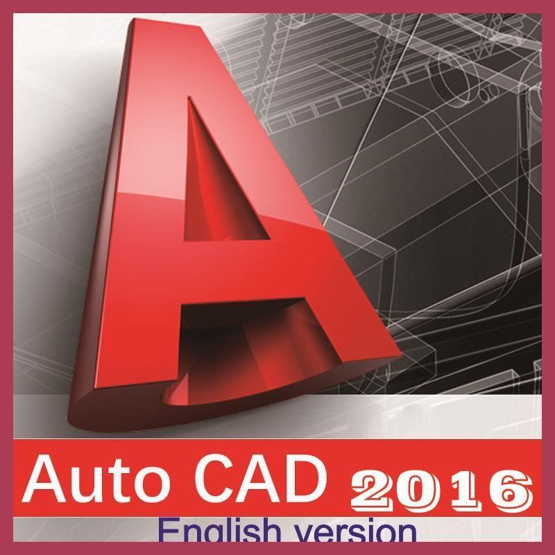 Autodesk Autocad 2016 English Languages For Win7 8 10 32 64 Bits