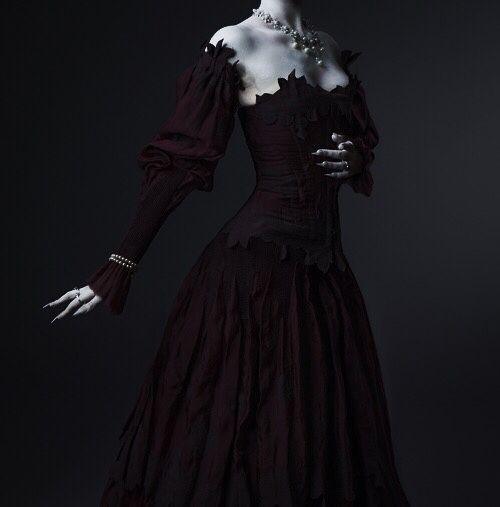 Black gothic dress tumblr