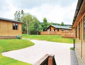 This is the stunning Castlewood Lodges in the Northern Highlands of