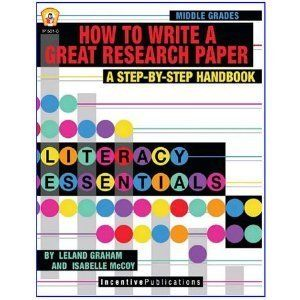 Incentive Publication How To Write A Great Research Paper By