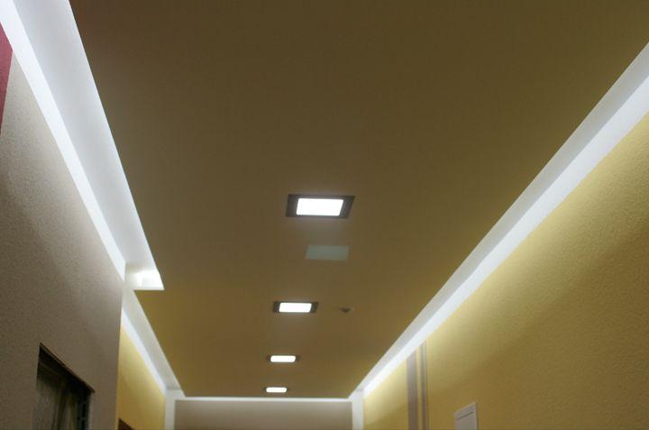 Perfect Deckenbeleuchtung LED Leisten und LED Panels