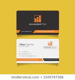 Professional Modern Business Cards For Financial Accounting Audit And Tax Advisory Companies Modern Business Cards Name Card Design Visiting Card Design
