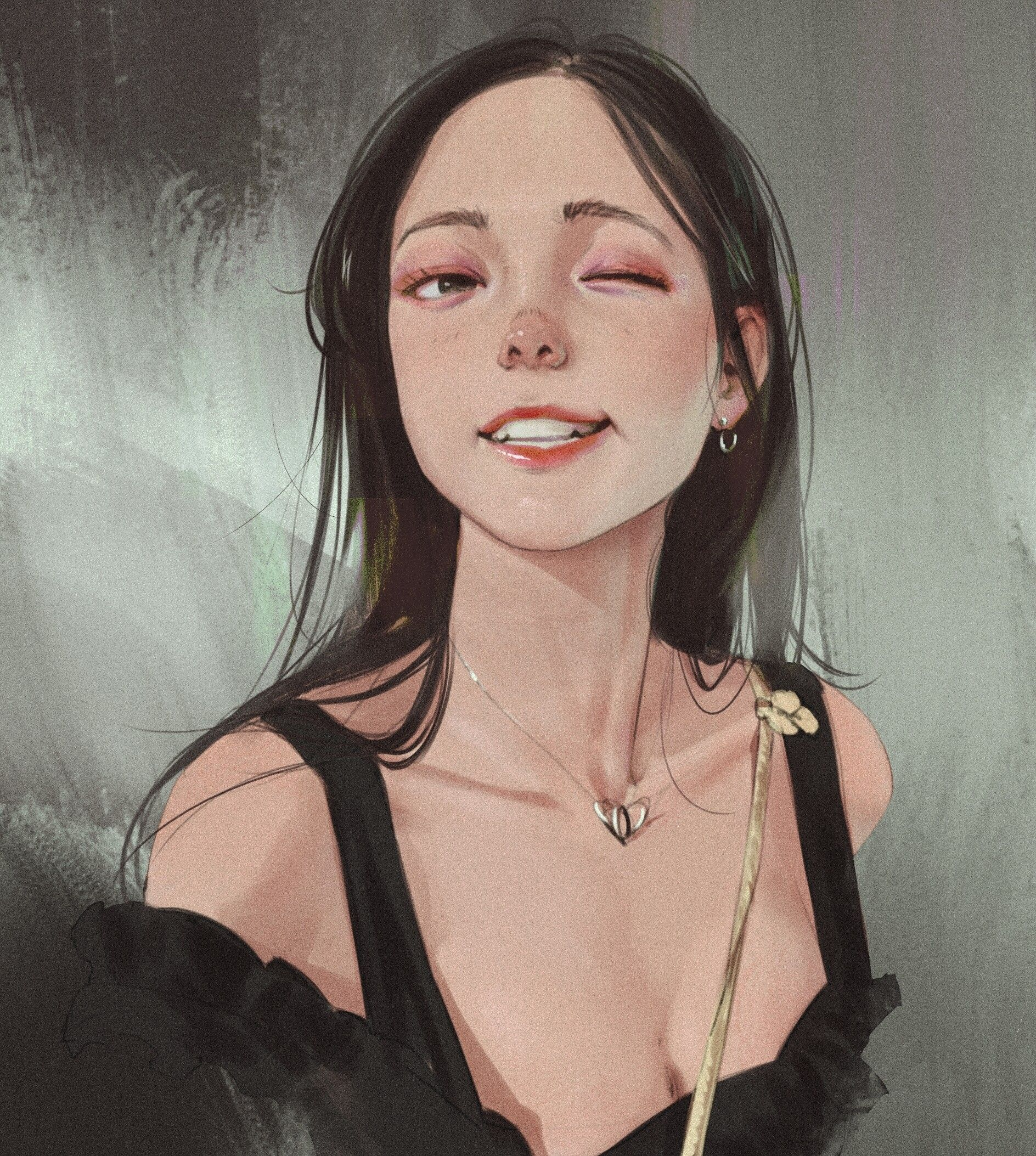 Artstation Some Photo Practice With References Rui Li In 2020 Anime Art Girl Aesthetic Art Realistic Drawings