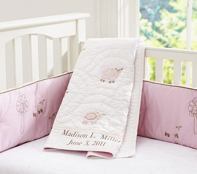 Sweet Lambie Nursery Bedding Potterybarnkids Perfect First