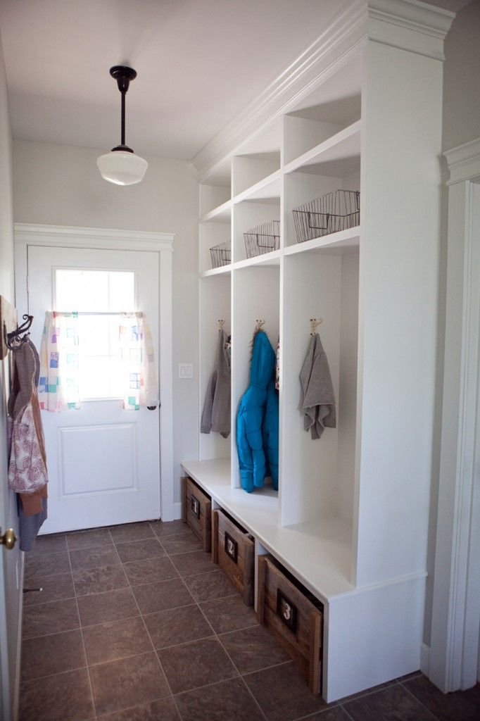 With No Coat Closet In A Tiny House, We Need A Clever, Yet Attractive
