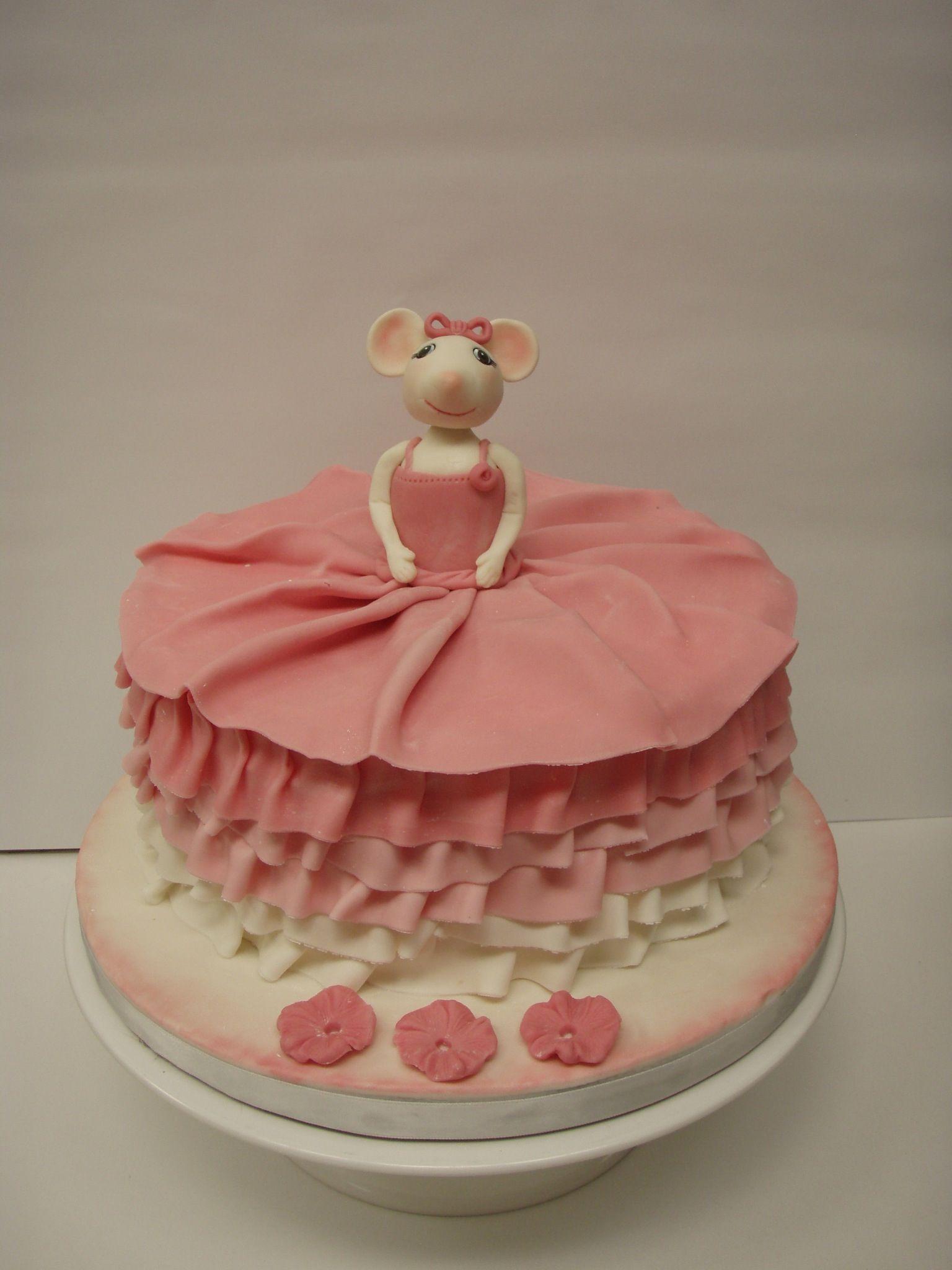 Angelina Ballerina Birthday Cake Cakebydebbieheyd My Cakes