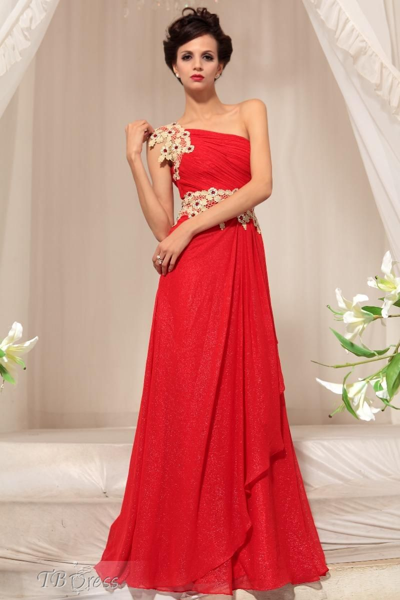 Aline one shoulder evening pageant dress pageants