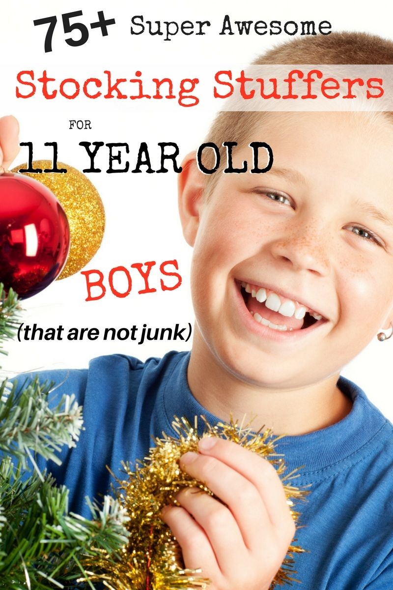 75 unique stocking stuffers for 11 year old boys that