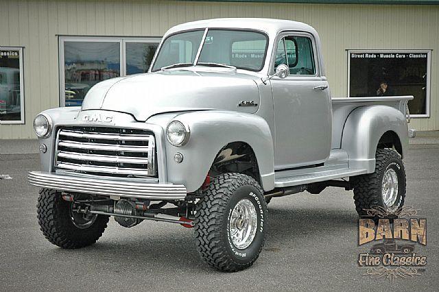1952 gmc pickup 4x4