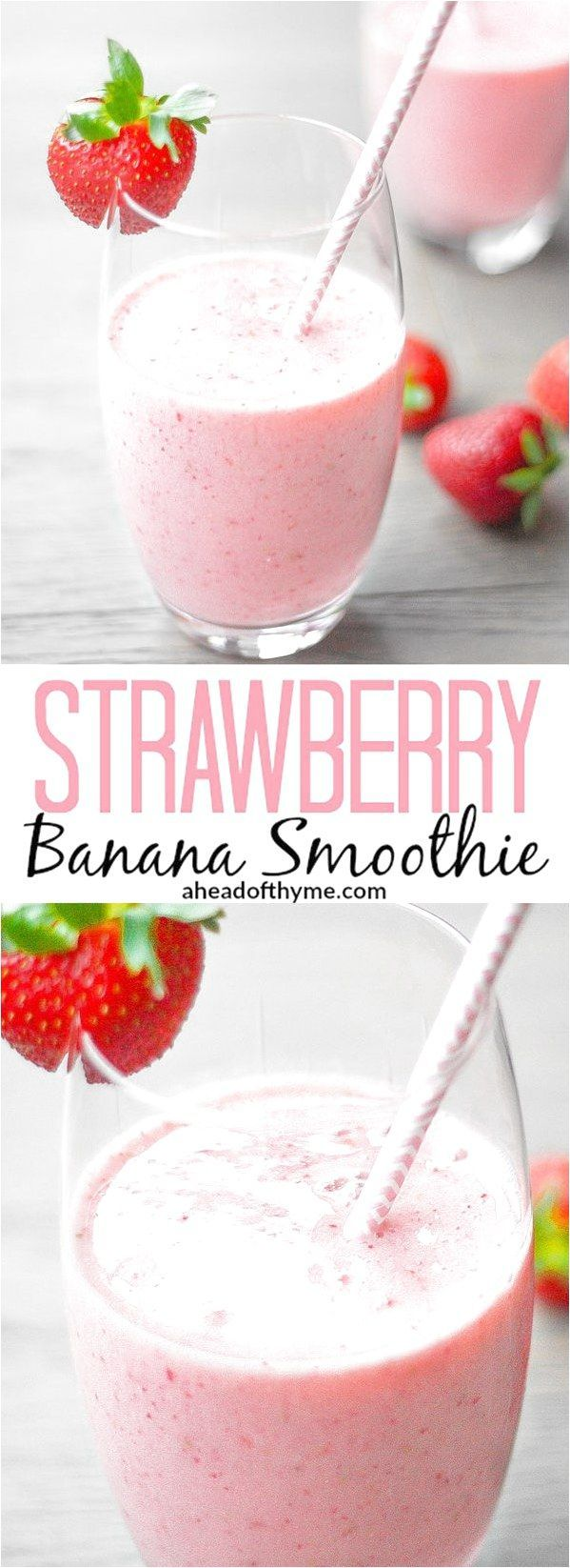 Strawberry Banana Smoothie This delicious and healthy strawberry banana smoothie contains the perfect combination of strawberries and banana to leave you refreshed and sustained  aheadofthymecom #KidsSmoothies click to see more... #strawberrybananasmoothie Strawberry Banana Smoothie This delicious and healthy strawberry banana smoothie contains the perfect combination of strawberries and banana to leave you refreshed and sustained  aheadofthymecom #KidsSmoothies click to see more... #strawberrybananasmoothie