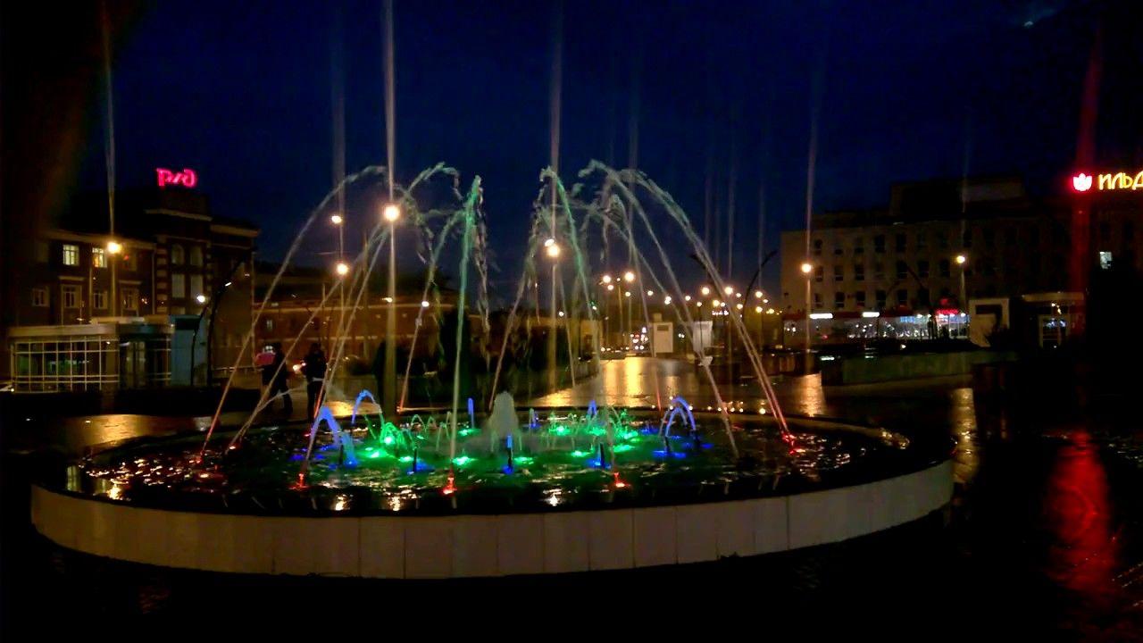 Вокзал Казань Фонтан | Фонтаны