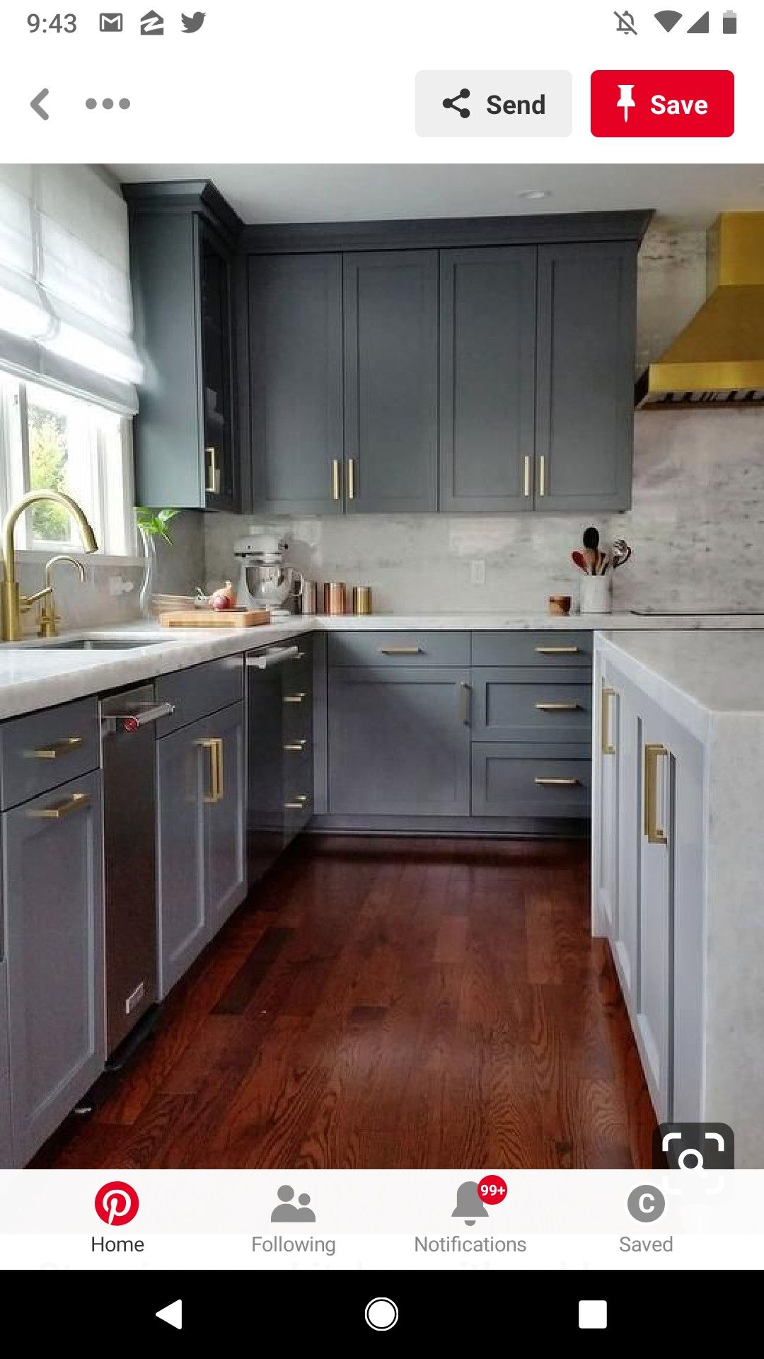 Pin by Carolyng Gomes on PH Inspo Cherry wood kitchen