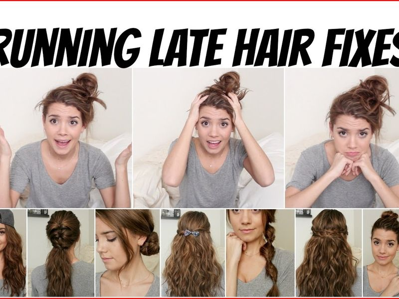 Fast Hairstyles The Coolest Styles In The Morning Fast Hairstyles Kids Hairstyles Hair Styles