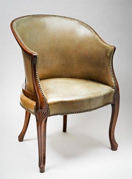 C.1800 English Mahogany Chair