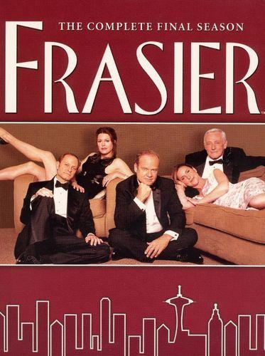 Frasier The Complete Final Season 4 Discs Dvd Best Buy Classic Tv Favorite Tv Shows Best Tv Shows