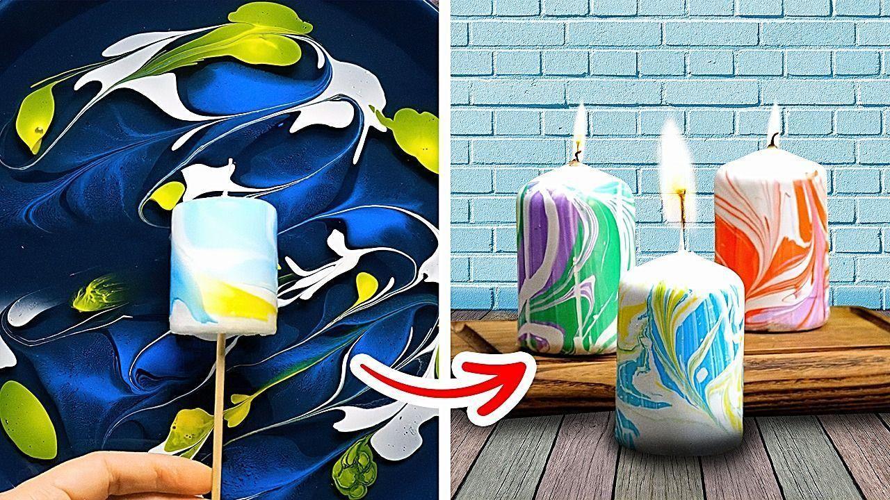 Amazing DIY Candle Making Tutorial    5-Minute Dec
