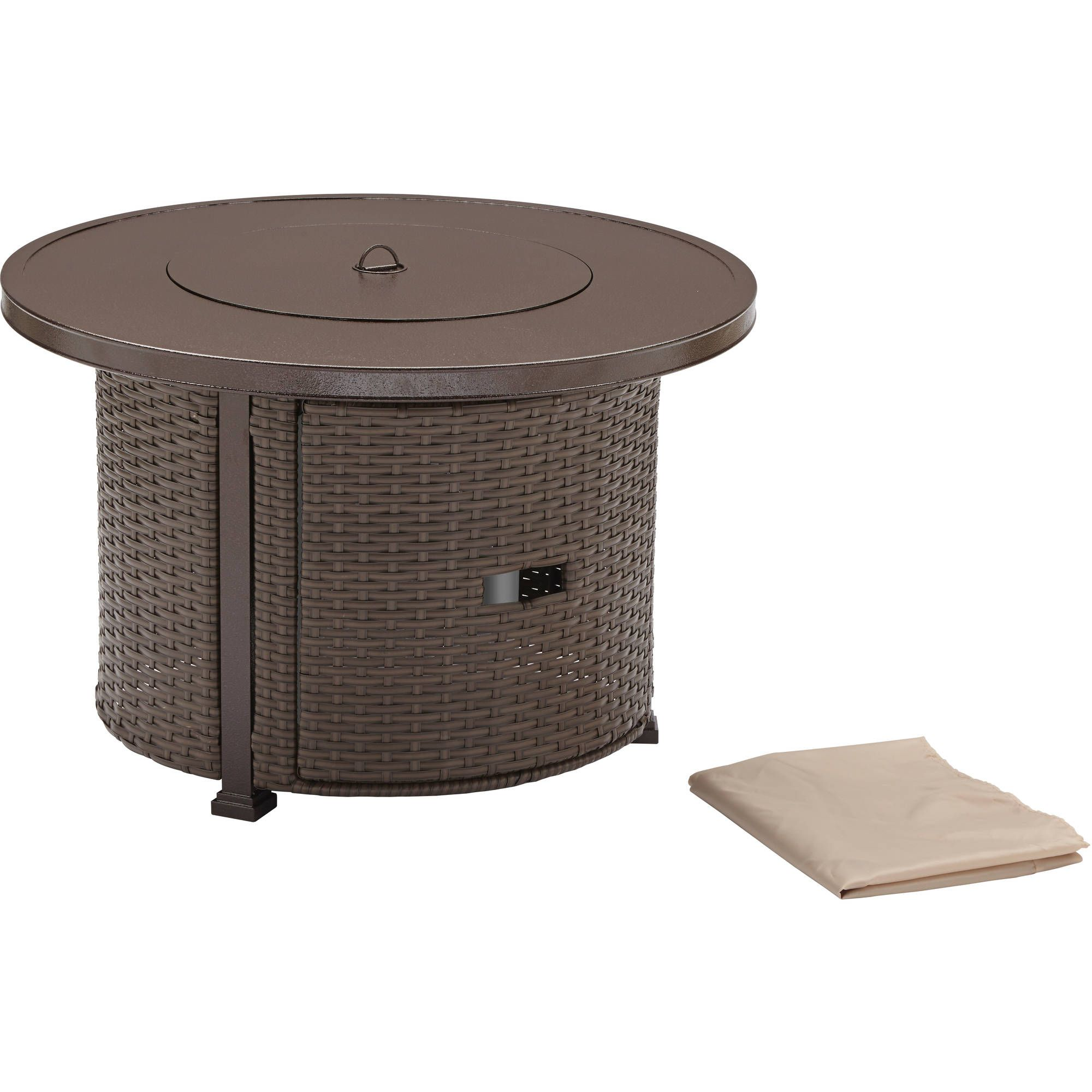 """Better Homes and Gardens Colebrook 37"""" Gas Fire Pit"""